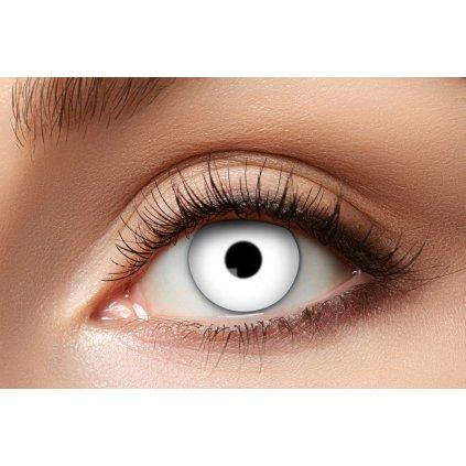 Kontaktní čočky bílé (roční)