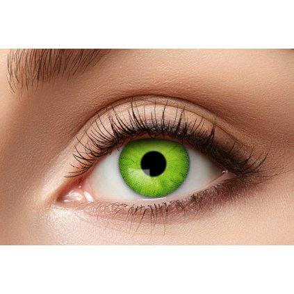 Kontaktní čočky zelené roční