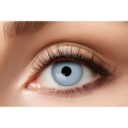 Nedioptrické kontaktní čočky šedivé roční