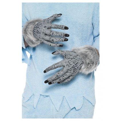 Vlkodlačí ruce rukavice