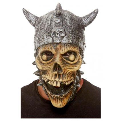 Latexová maska mrtvý viking