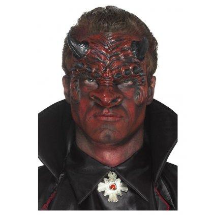 Latexová maska pekelníka