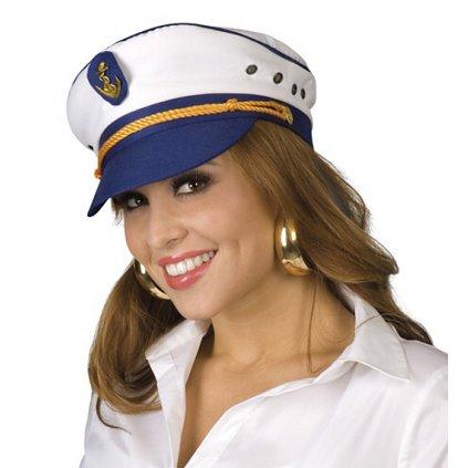 Kapitánská čepice s kotvou