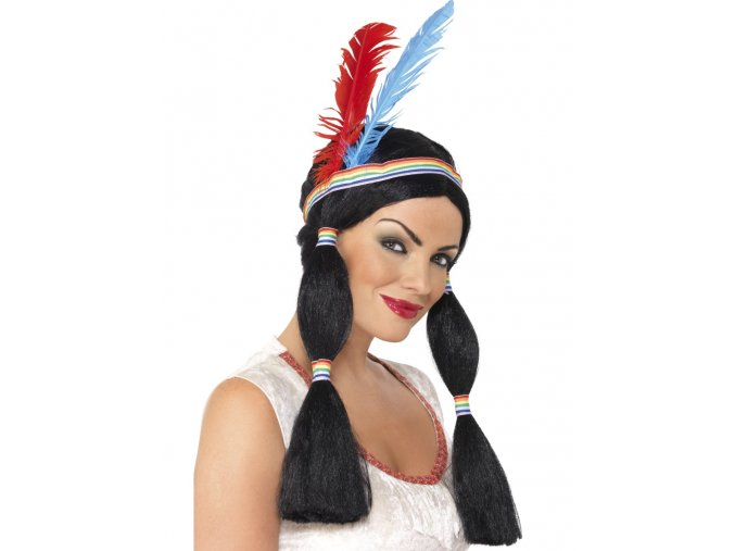 Paruka Indiánská princezna