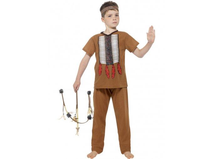 Dětský kostým indián 4-6 let