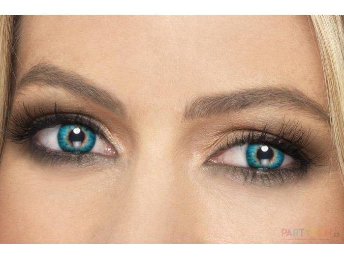 Barevné kontaktní čočky zelené levně