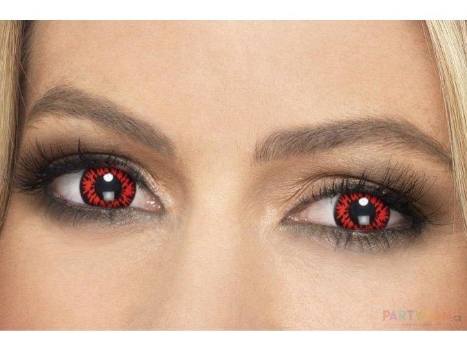crazy Barevné kontaktní krvavé čočky