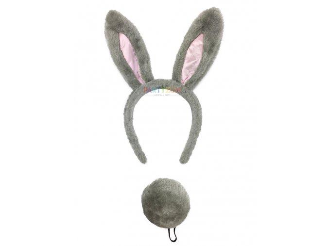 králičí uši na čelence