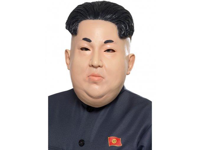 Maska diktátor Kim Čong-un