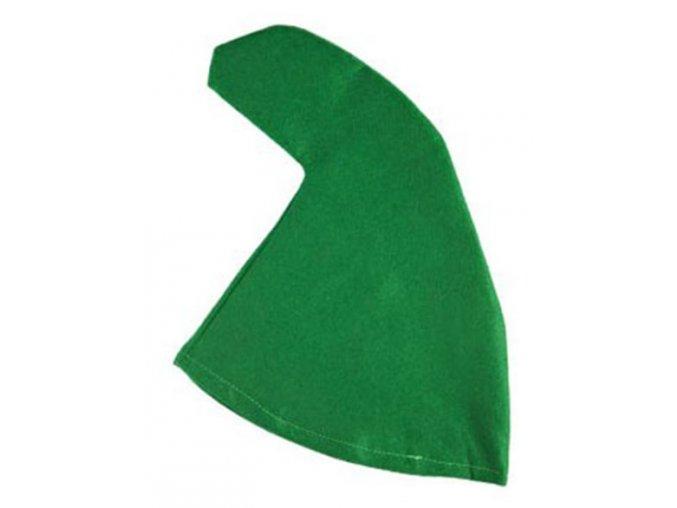 trpasličí čepice zelená