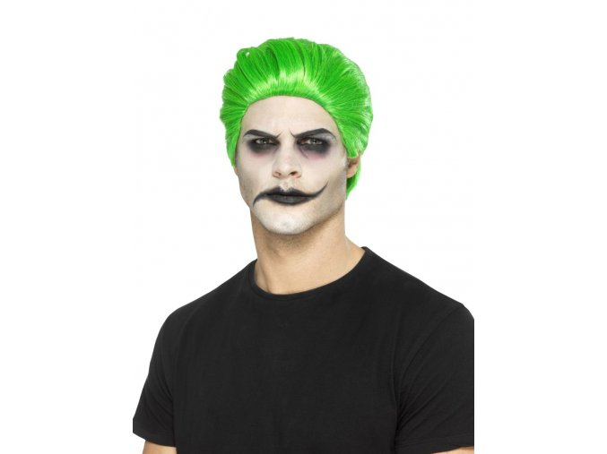 zelená paruka joker