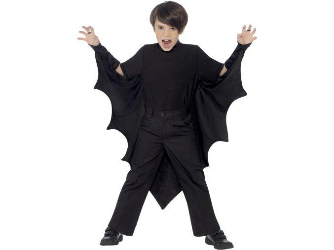 Halloween kostým netopýr křídla