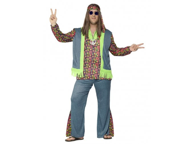 Pánský kostým Hippie (vel. L XXL)