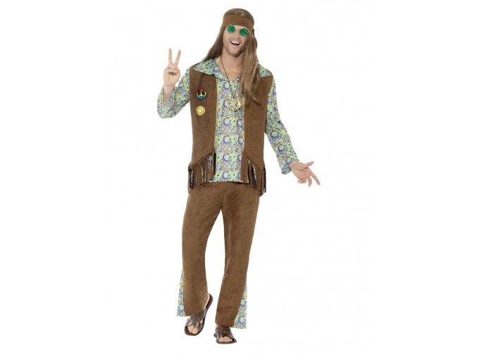 Pánský hippies kostým 60. léta