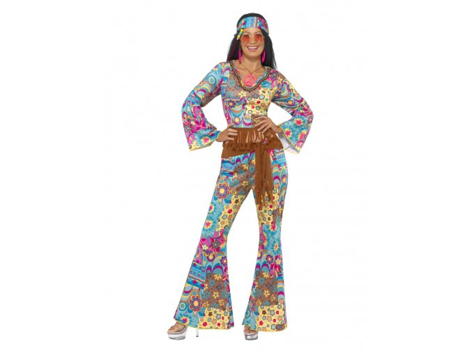dámský kostým hippies partyzon