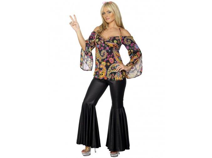 Dámský kalhotový kostým hippies