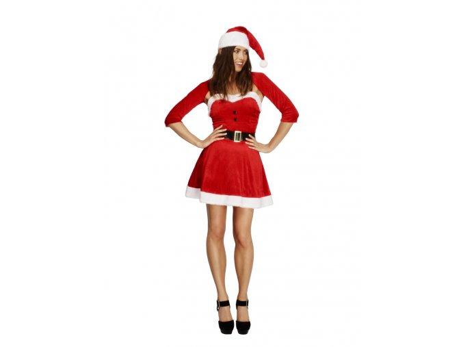 Vánoční kostým paní Santová Fever
