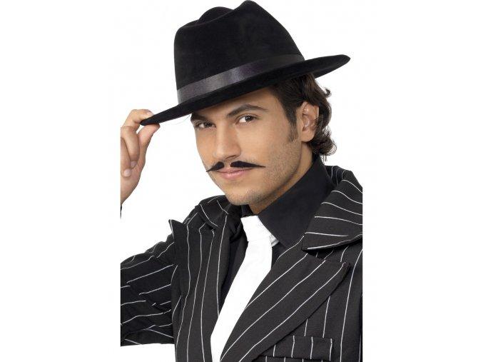 Mafiánský klobouk černý