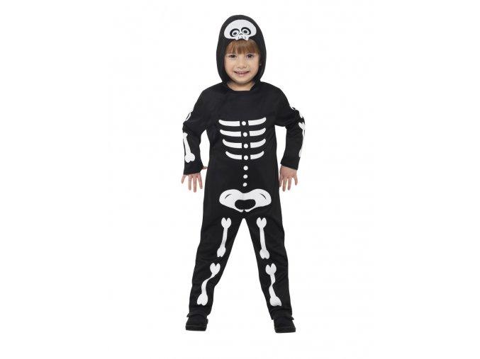 Dětský kostým kostlivec (3-4 roky)