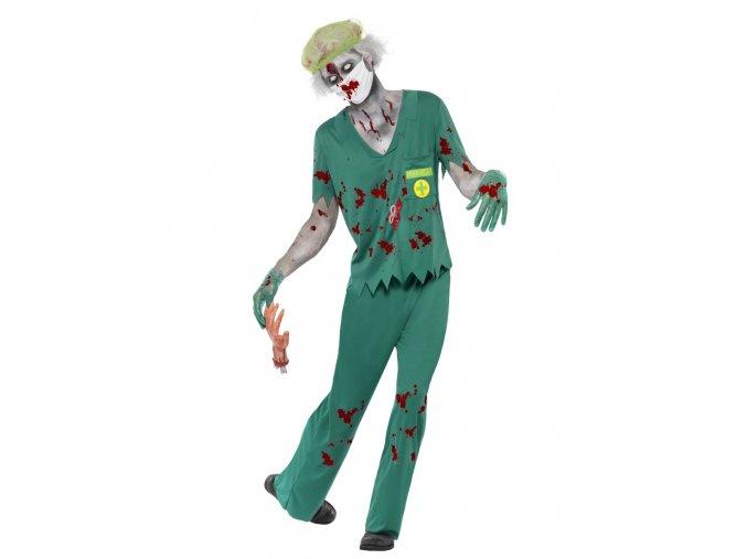 Pánský kostým zombie chirurg