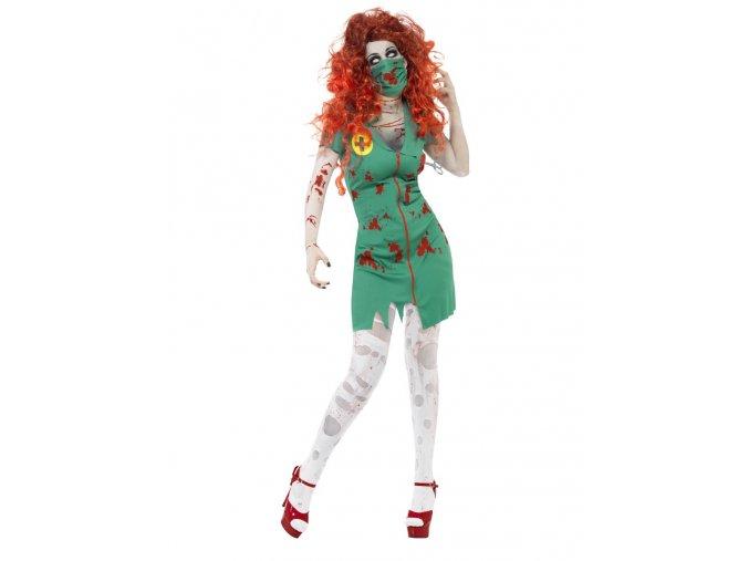Kostým zombie zdravotní sestřička