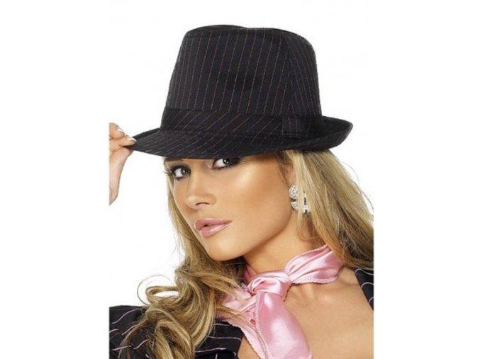 Dámský mafiánský klobouk