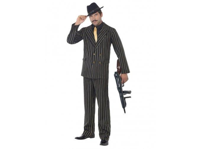 Mafiánský kostým s pruhy 20 léta