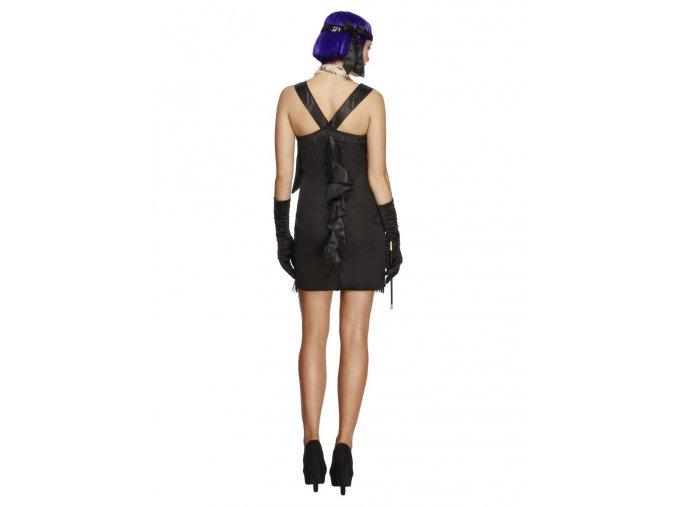 Charleston kostým šaty s mašlí
