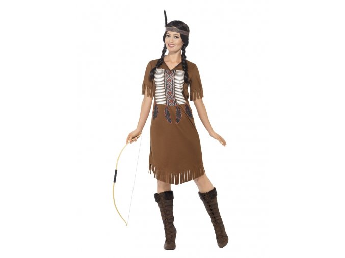 Dámský kostým indiánka dospělý