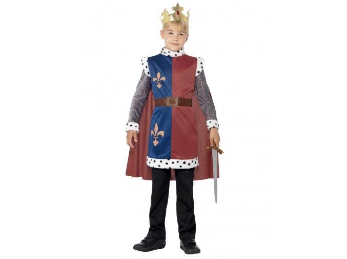Dětský kostým král Artuš