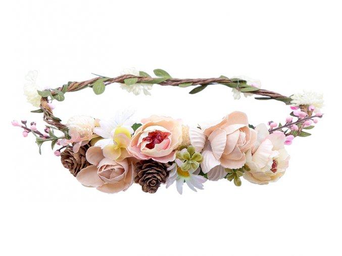 květinový věneček lesní víla