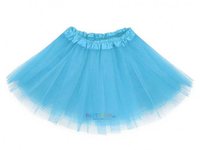 modtá tutu sukně pro děti