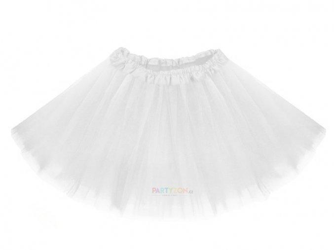 bílá tutu sukně pro děti