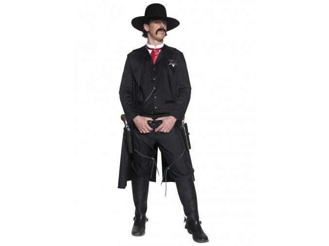 Kvalitní kostým šerif Western