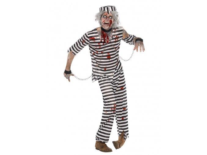 Pánský kostým zombie vězeň