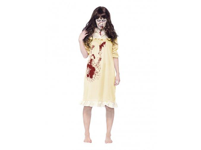 Hororové šaty panenka + paruka