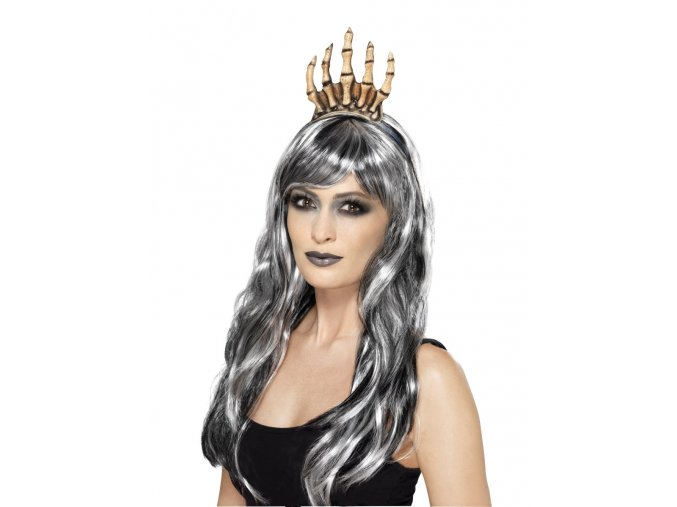 Halloween korunka z kostí doplňky