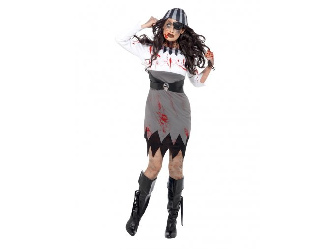 Dámský kostým duch pirátky