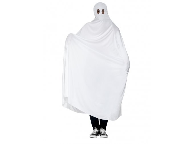 Kostým ducha bílé prostěradlo