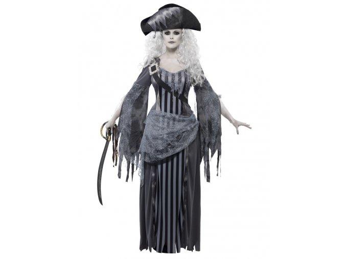 Dámský kostým Duch pirátky halloween