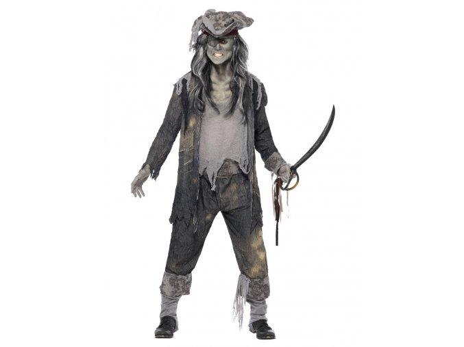 Pánský kostým kapitán pirát duch