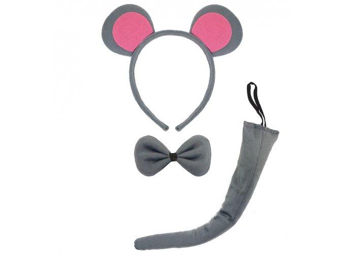 sada myška ocas čelenka