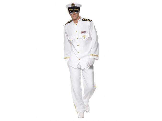 Pánský kostým námořníka Kapitán deluxe