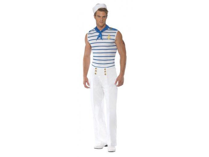 Pánský kostým námořníka partyzon