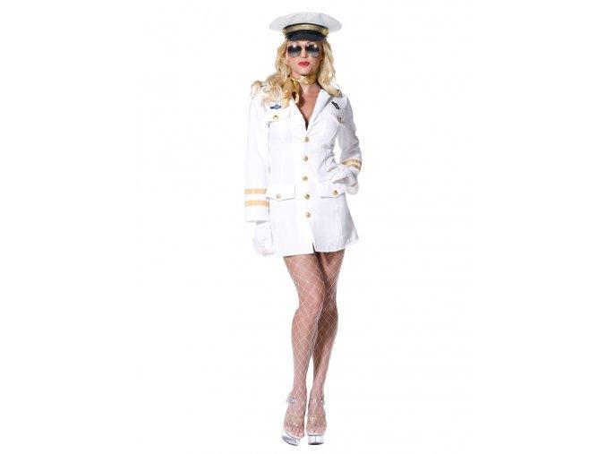 Dámský námořní kostým Důstojnice dospělý