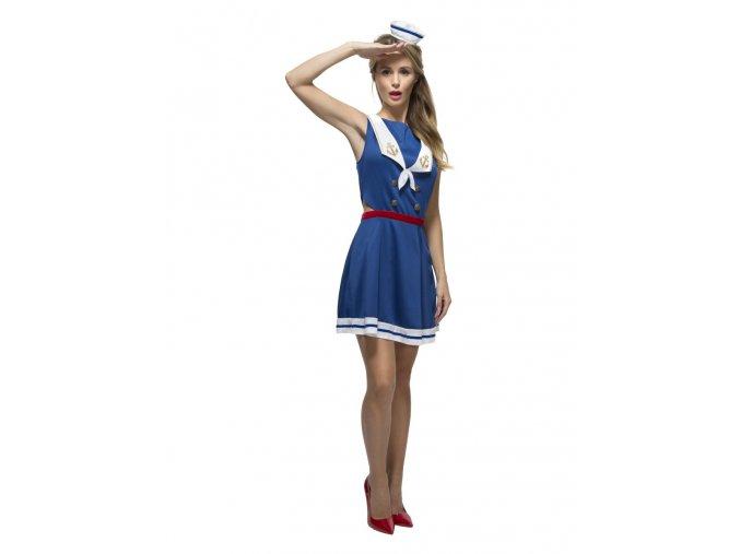 Námořnické šaty modré kostým