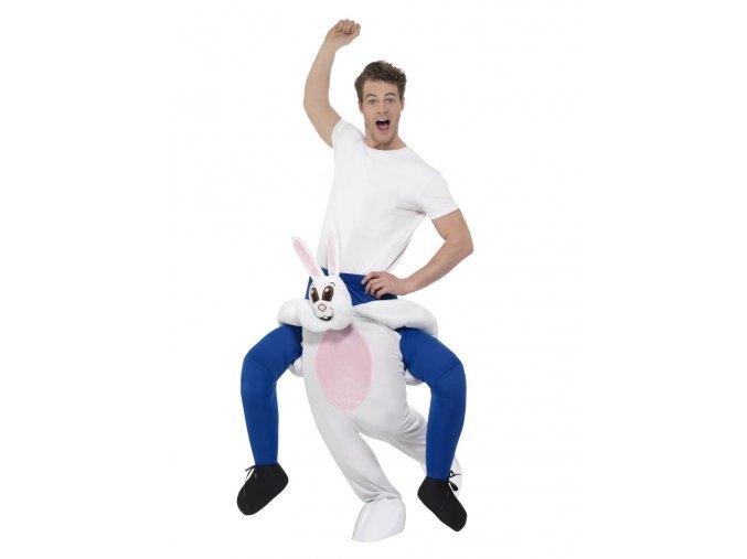 Kostým jezdec na králíkovi Piggyback
