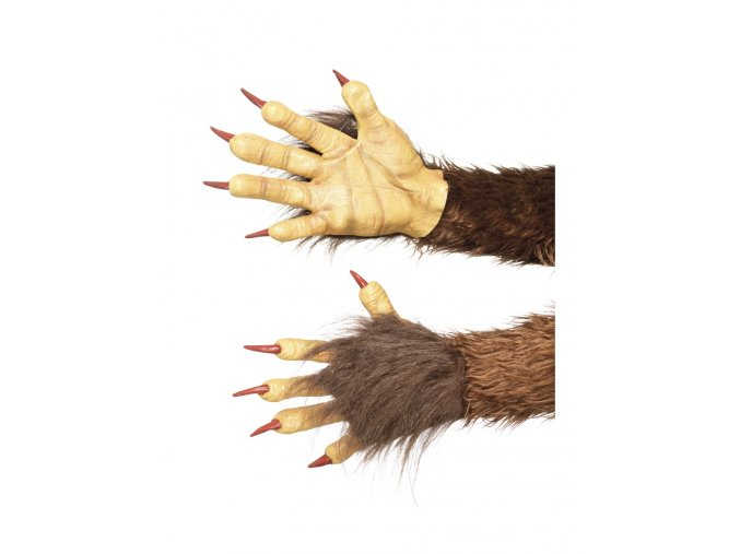 Čertovské ruce Krampus partyzon