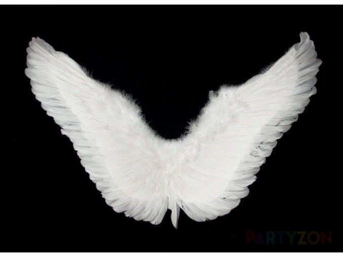 andělská křídla bílá velká