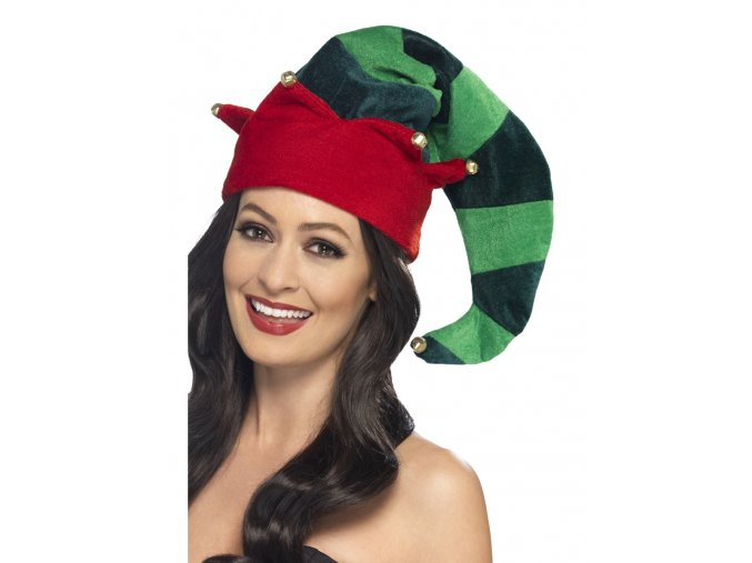 Plyšová čepice pro elfa partyzon